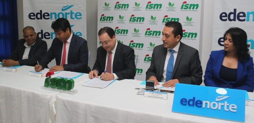 Industria San Miguel Padrinos del sector eléctrico.